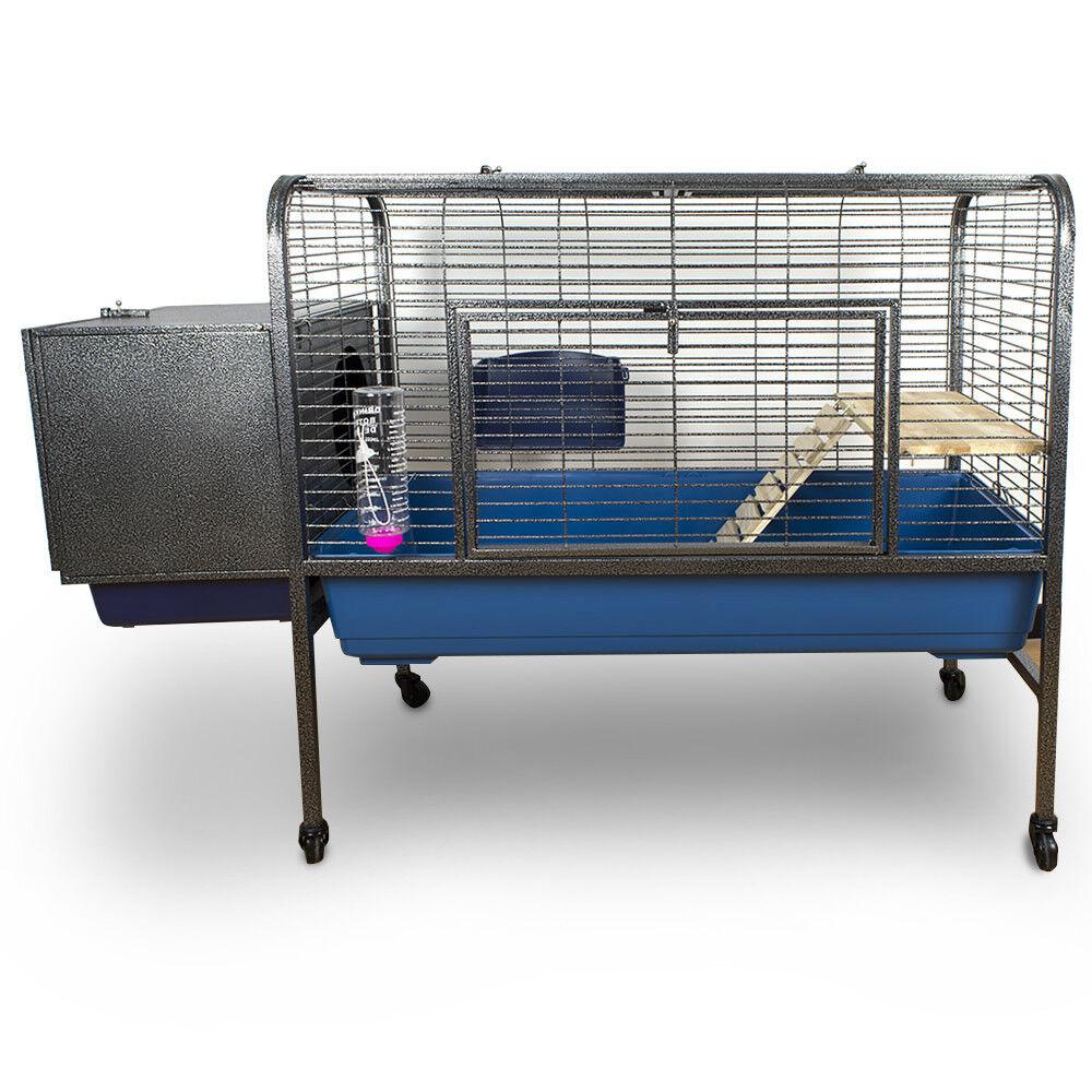 Gabbia coniglio, furetto, cavia, cincilla, gerbilo, scoiattolo. Dim. 134 cm.