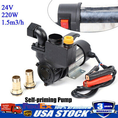 Shallow Well Jet Pump With Pressure Switch 24v 220w Self-priming Jet Water Pump