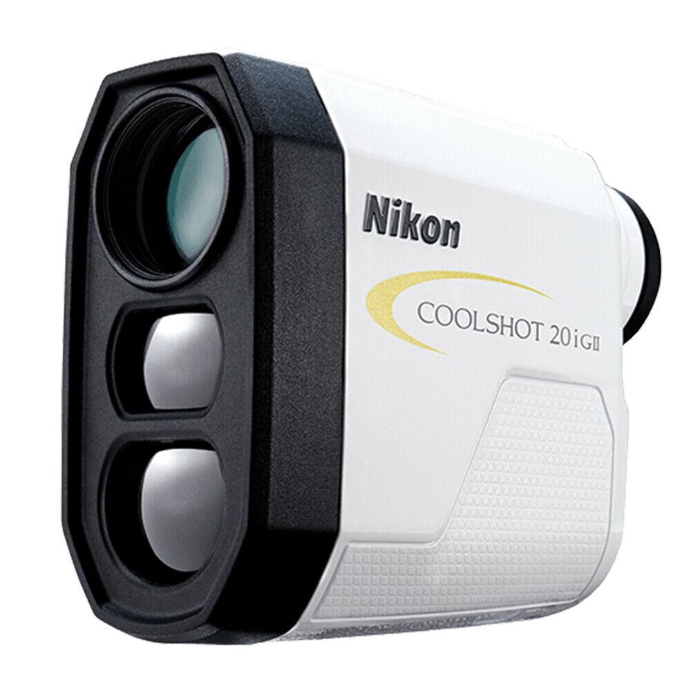 Nikon COOLSHOT 20i GII Golf Laser Rangefinder | Slope-Adjust