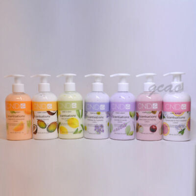 CND Creative Nail Scentsations Hand & Body Lotion 8.3oz / 245ml Your Choice
