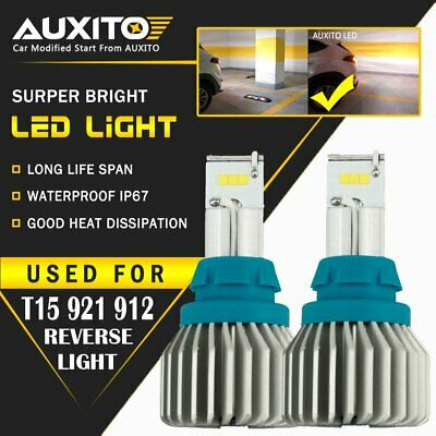 AUXITO T15 921 912 LED Reverse Backup Lights for Toyota Camry Corolla Tacoma CSP