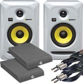 KRK Rokit RP5 G3 Monitor Speaker in special edition WHITE ( LATEST MODEL)