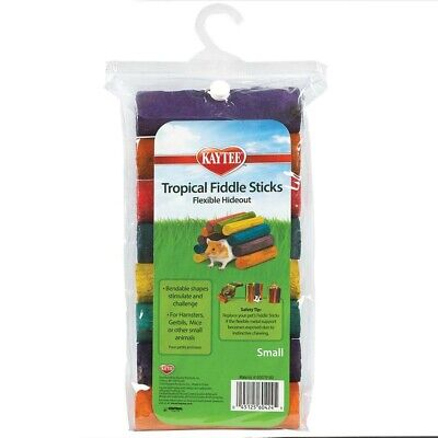 - Kaytee Tropical Fiddle Sticks Hideout Small Free Shipping