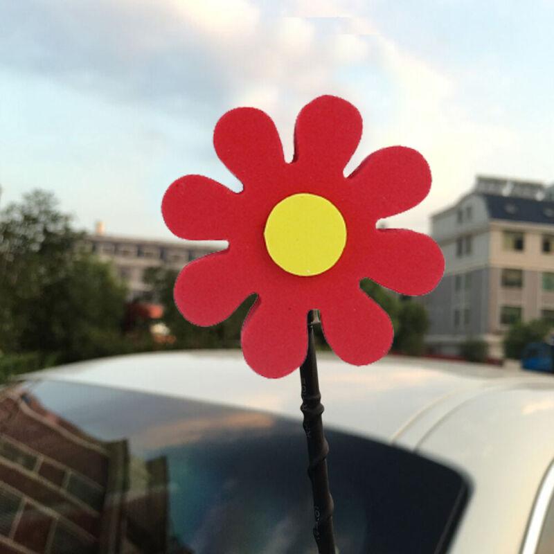 Daisy Flowers Antenna Balls Car Aerial Ball Antenna Topper Decor 1X