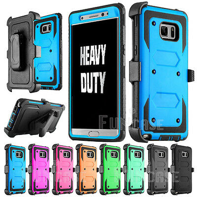 Belt Clip Heavy Duty Holster Defend Case for Samsung Galaxy Note 5 8 S7 edge S8