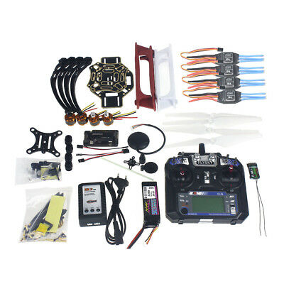 Full Set RC Drone Quadrocopter Aircraft Kit F450-V2 Frame GPS APM2.8 Camera PTZ