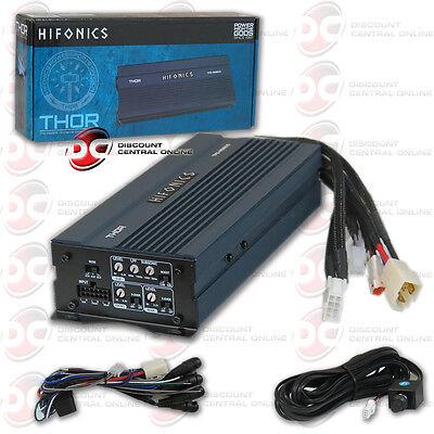 Brand New Hifonics Mini Compact Car Motorcycle Audio Class D Amplifier 600 Watts