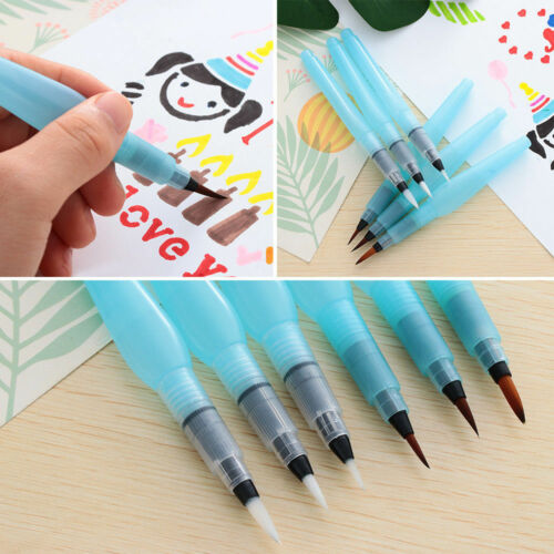 Large Capacity Paintbrush Self Moistening Pen Art Supplies Watercolor Brush Pens