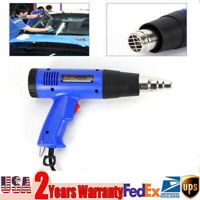 Heat Gun Hot Air Gun Variable Temperature Nozzles Power Tool 1800w Heater Gun Us