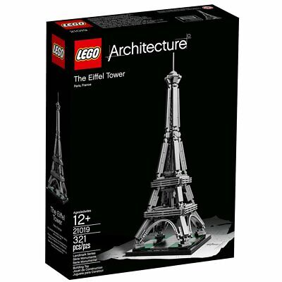 LEGO Architecture The Eiffel Tower (21019) - Brand New & Sealed