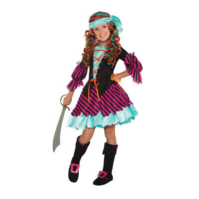 Girls Salty Taffy Diva Pirate Halloween Costume (Girls Diva Costume)