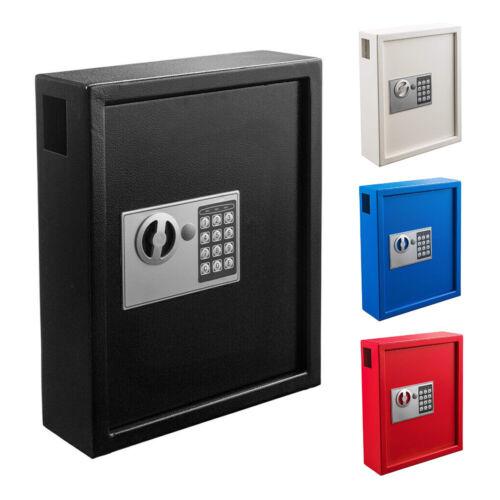 AdirOffice Steel 40 Key Mountable Programmable Cabinet Safe with Digital Lock