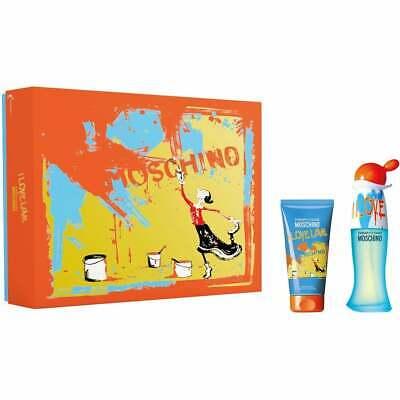 MOSCHINO I Love Love Eau De Toilette Gift Set 30ml For Her Women's Perfume