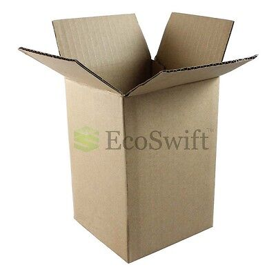 1-200 4x4x6 Ecoswift Cardboard Packing Mailing Shipping Corrugated Box Cartons