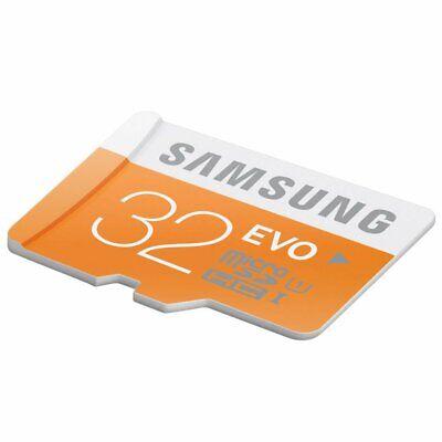 32GB Samsung EVO MB-MPBGC Class 10  Micro SD SDHC Karte Speicherkarte Bulk WH
