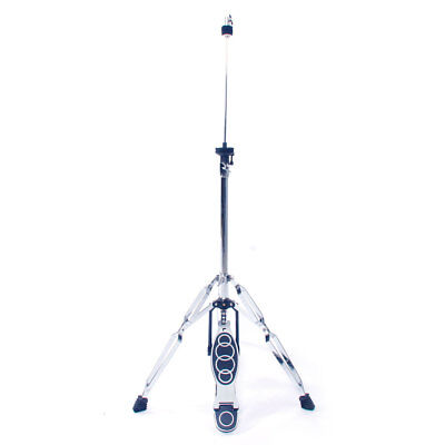 High Cymbal - Glarry Drum High Hat Cymbal Stand with Pedal 2 to 3 Feet Double Braced Legs
