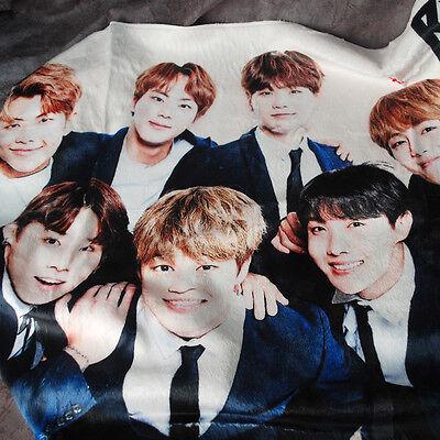 "BTS Bangtan Boys Mini Blankets KPOP Star BTS Korea Gift (35.4"" x 23"") bts"