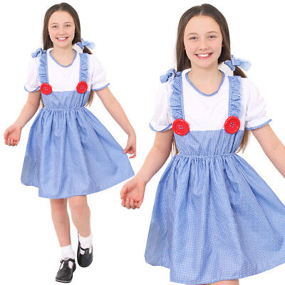 TODDLER DOROTHY FANCY DRESS COUNTRY STORYBOOK BOOK WEEK COSTUME CHILDS CHARACTER