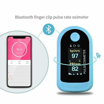 Fingertip Pulse Oximeter Android Ios Bluetooth 4.0 Finger Oxymeter Oximetro