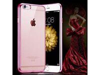 New iPhone 6 6S Soft CLEAR Back Silicone TPU Bumper Case Cover