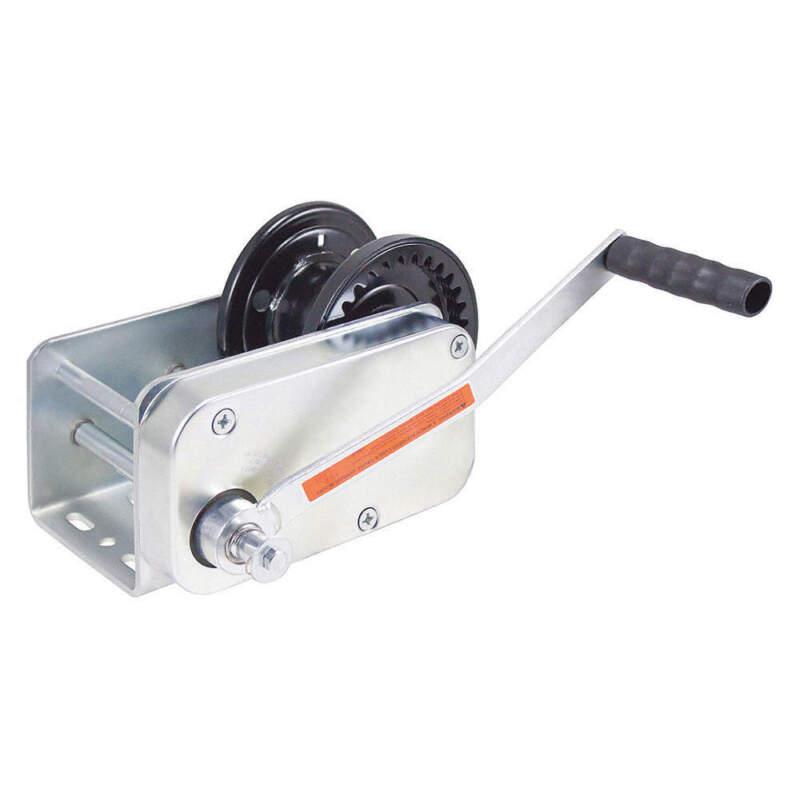 Heavy-Duty Brake Winch,Spur Gear,3500 lb B3503