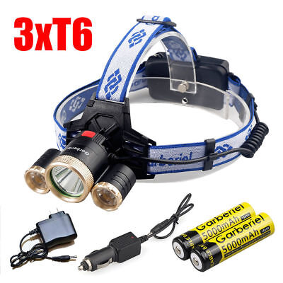 Objective Led Headlight Zoom Head Flashlight Adjustable Head Lamp Optional Accessorie 18650 Battery Front Light To Be Highly Praised And Appreciated By The Consuming Public Lights & Lighting