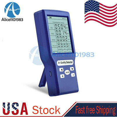 Carbon Dioxide Co2tvochcho Detector Ppm Meters Gas Analyzer Air Quality Meter