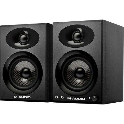 """M-Audio BX3 Graphite 3.5"""" Active Studio Monitor Pair"""