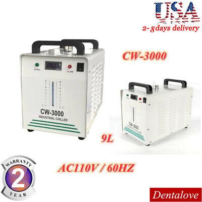Cw-3000 Industrial Water Chiller Cooling Machine 110v Co2 Laser Tube Engraver