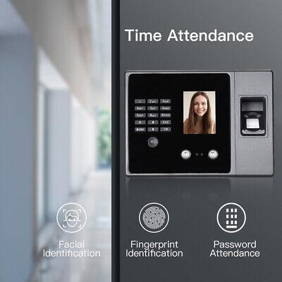 Intelligent Facial Fingerprint Time Attendance Machine Time Clock Usbethernet