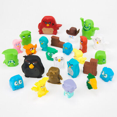 Angry Birds Pig Red Blues Terence Bomb 25 PCS Action Figure Cake Topper Toy