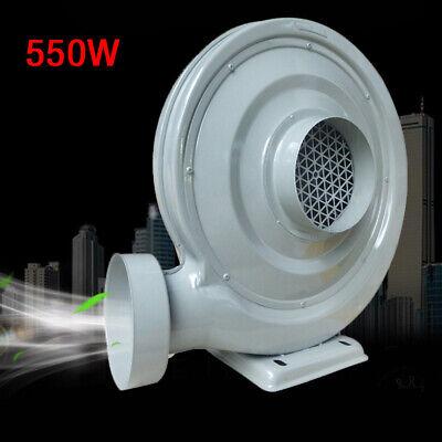 High Pressure Centrifugal Fan Blower Dustsmoke Exhaust Blower Fan 550 W Us Plug