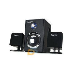 Casse pc tv notebook altoparlanti 2 1 multimedia speaker for Casse per tv