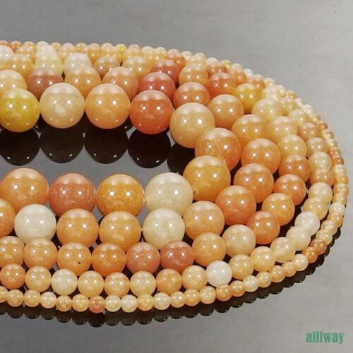 Natural Red Aventurine Gemstone Round Beads 16