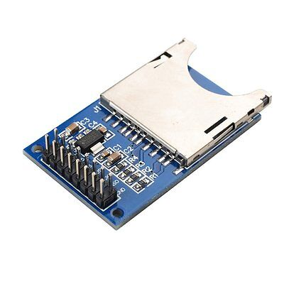 1pcs Sd Card Module Slot Socket Reader For Arduino Arm Mcu Read And Write