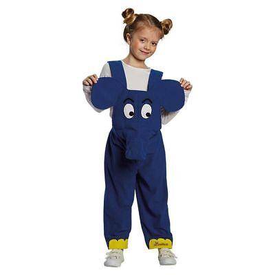 Rub - Sendung mit der Maus Kinder Kostüm Elefant (Kostüm Sendung)