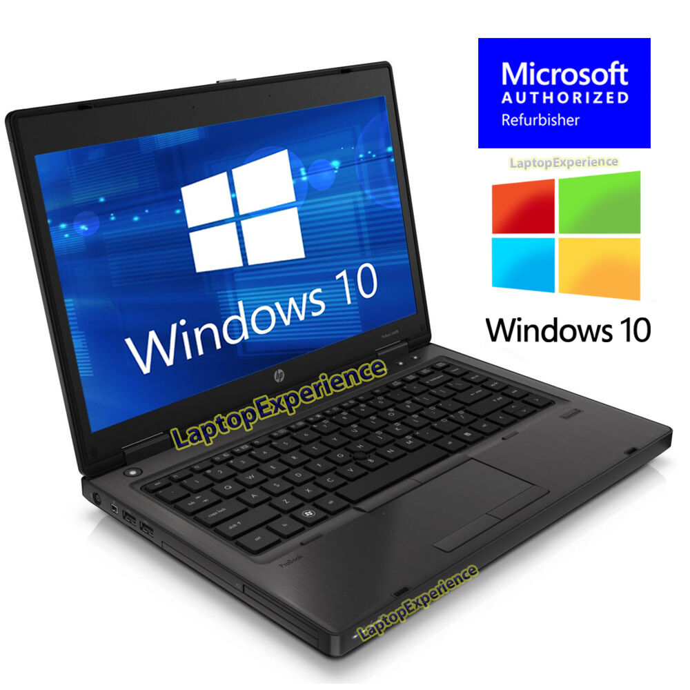 "Laptop Windows - HP LAPTOP PROBOOK WINDOWS 10 WIN A4 2.5GHz 4GB 320GB HD 14"" LED WiFi NOTEBOOK PC"