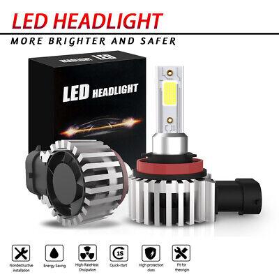 H11 H8 H9 LED Headlight Bulb 60W 13200LM Kit High/Low Beam Upgrade 6500K