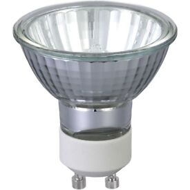 6 x GU10 Halogen Glass Bulbs 35 Watt (IKEA brand) NEW