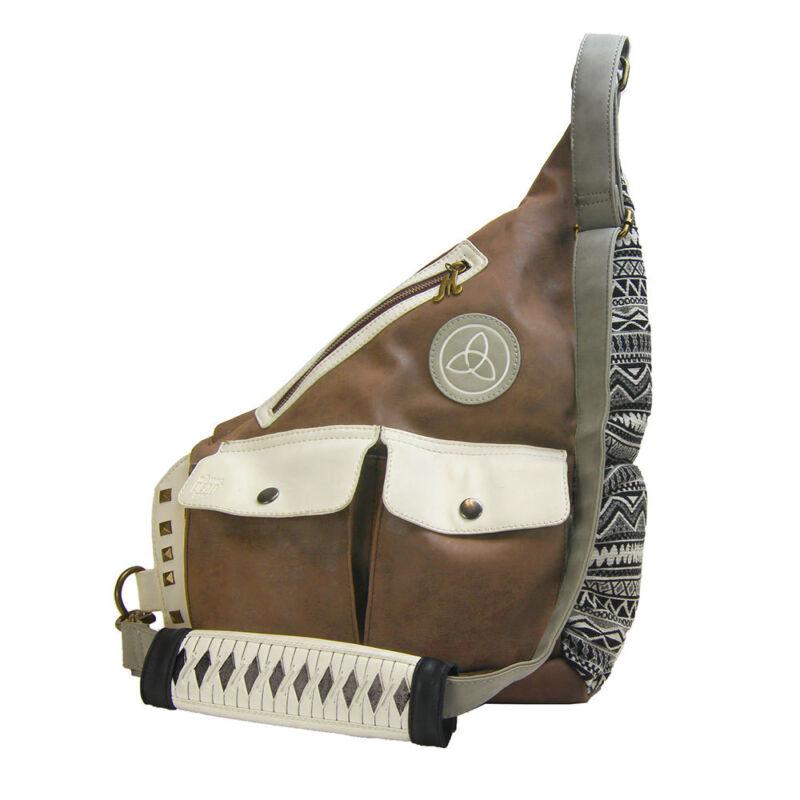 Walking Dead Michonne Faux Leather Sling Bag