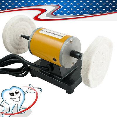 Mini Rotary Polishing Machine For Dental Jewelry Lathe Bench Grinder Equipment