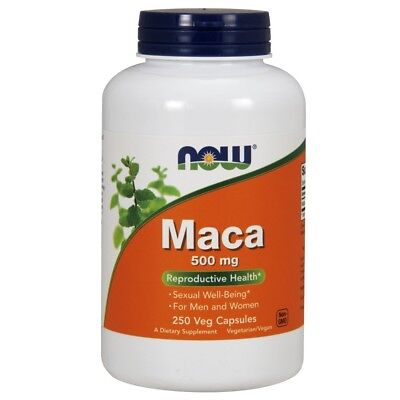 Now Foods maca 500mg - 250 Capsules