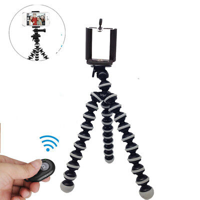 Gorillapod Flexible Tripod Stand+Holder+Remote For Iphone Canon Nikon Camera