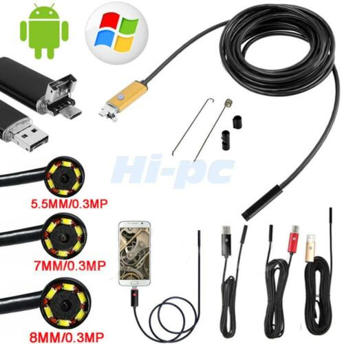 Купить Unbranded/Generic - 10M LED Android Endoscope Waterproof Inspection Camera Micro USB Video Camera US