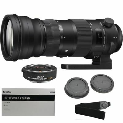 Sigma 150-600mm F5-6.3 Dg Os Hsm Sports Lens For Canon Ef