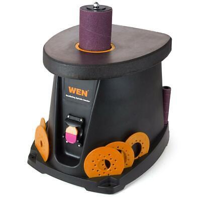 Spindle Sander 3.5 Amp 12 Hp Oscillating Sanding Tool Dust Collector Storage