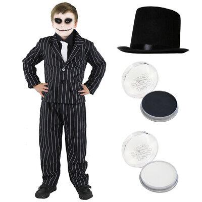 Mr Nightmare Halloween (NIGHTMARE MR JACK BOYS HALLOWEEN FANCY DRESS COSTUME SCARY KIDS CHILD)