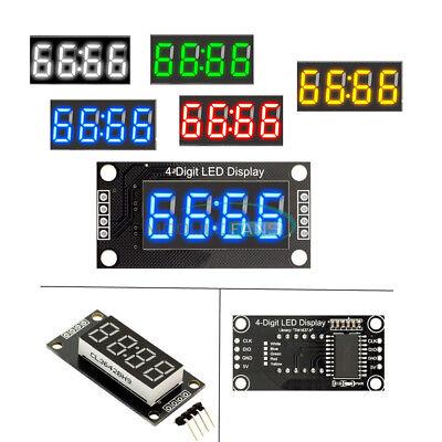 0.56 Inch Rgb 4-bits Digital Led Tm1637 Clock Tube Display For Arduino