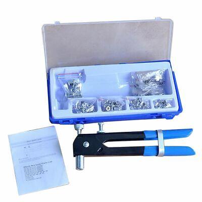 86Pc Insert Car Body repair Tool Riveter Threaded Kit M3-M8 Rivet Nut Set