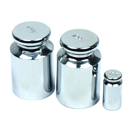 200g Calibration Weight Set - Two (2) 100g Weights + One (1) 10g Test Weight